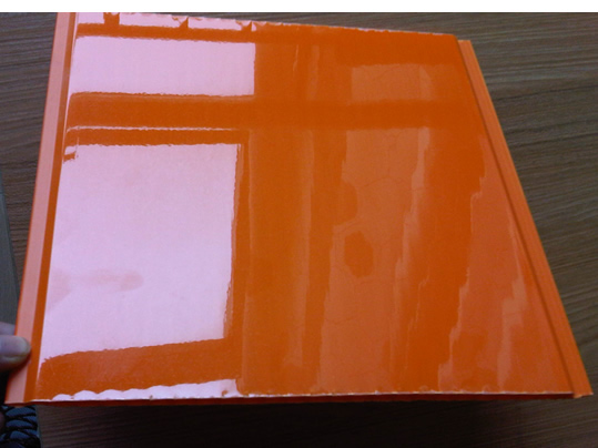 Orange Pvc Panel For Pvc Ceiling And Pvc Wall High Gloss